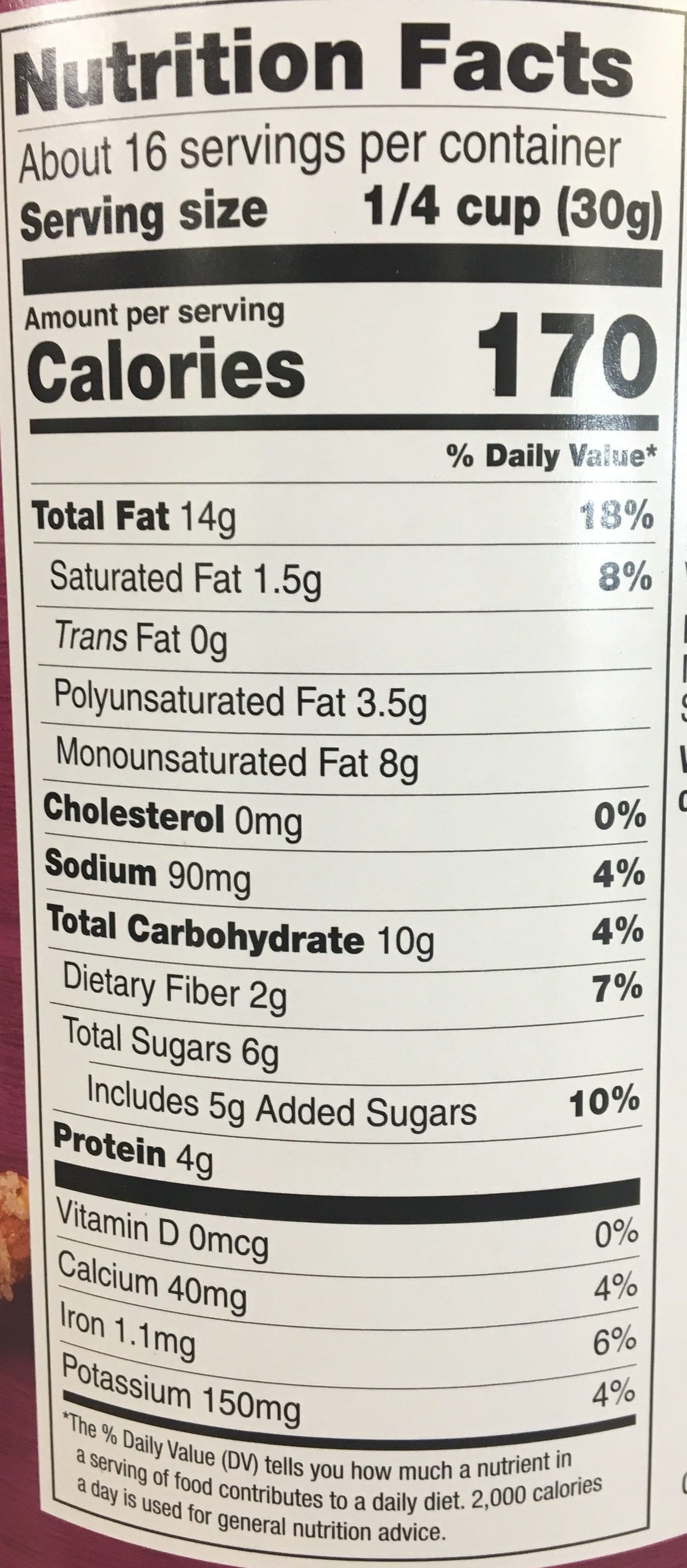 Deluxe Mixed Nuts - Nutrition facts - en