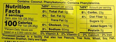 Li Hing Gummy Bears - Nutrition facts