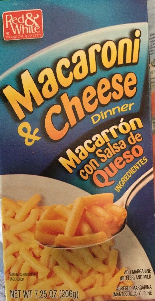 Macaronie and cheese - Produit - fr