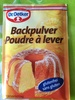 Backpulver Dr. Oetker - Product