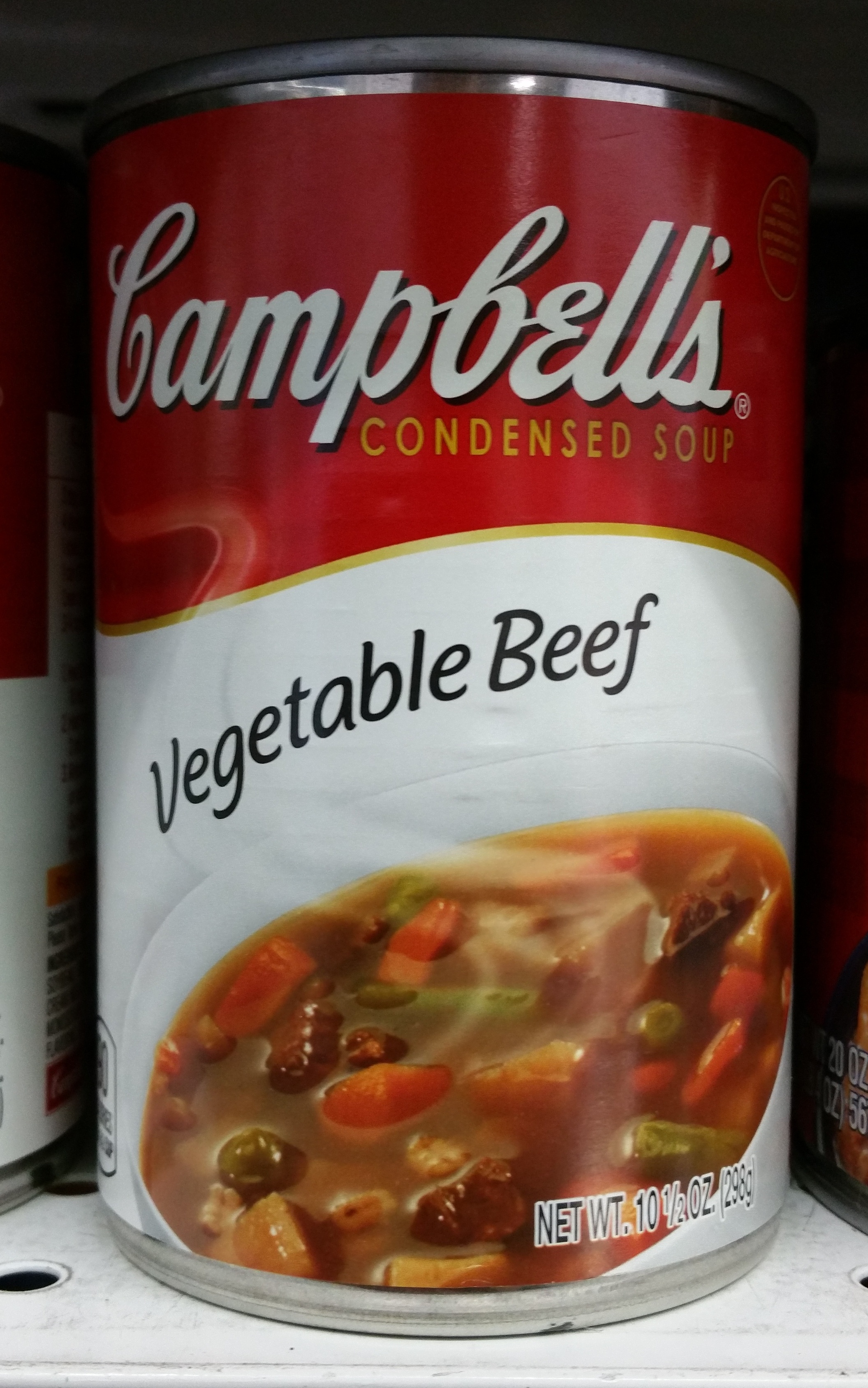 Campbell's soup vegetable beef - Product - en