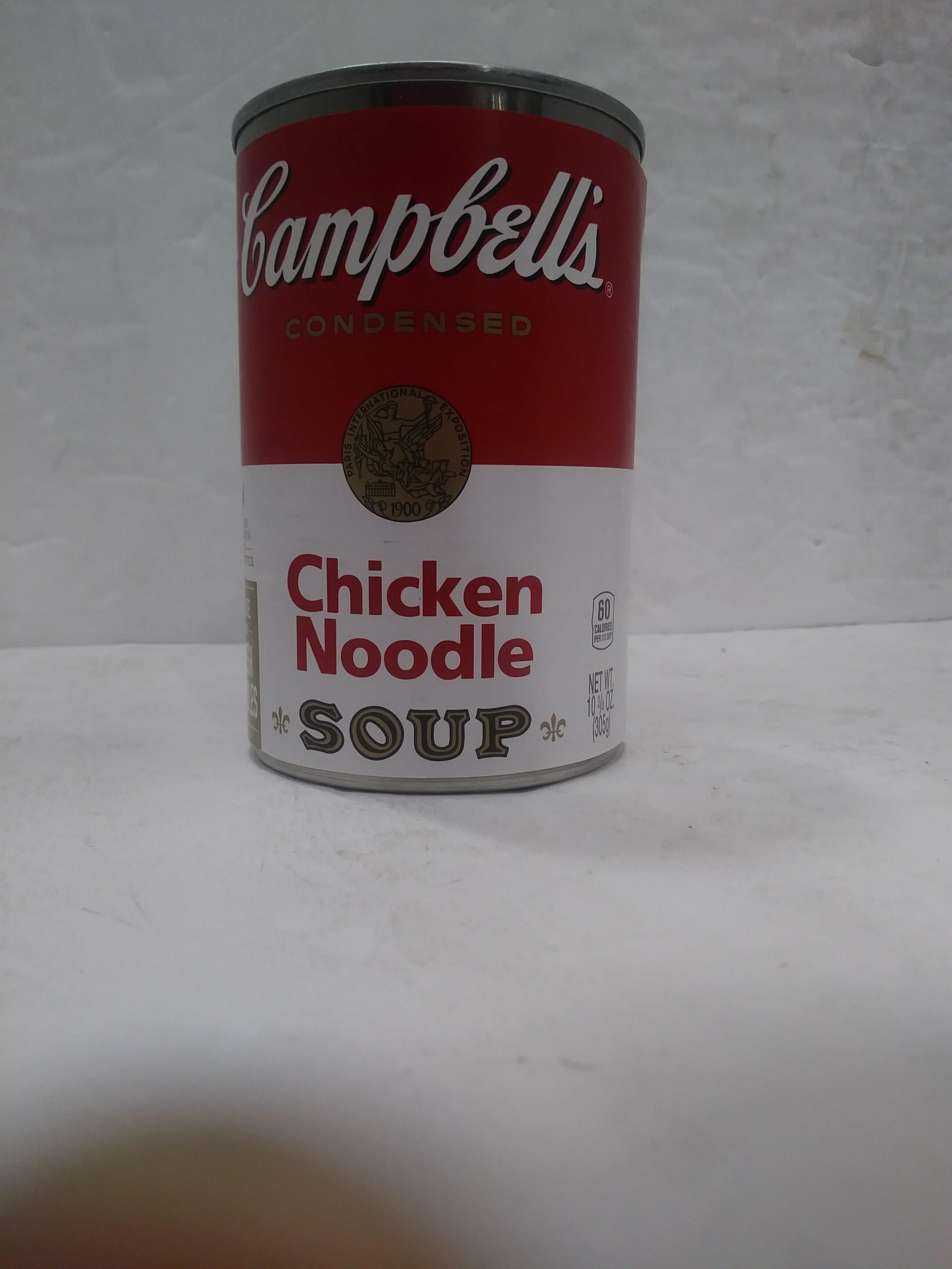 Condensed Chicken Noodle Soup - Product - en