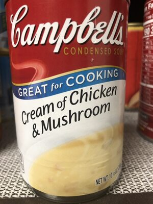 Campbell's soup creamy chicken mushroom - Product - en