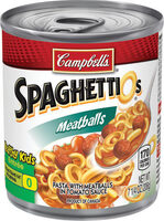 Spaghettios pasta with meatballs in tomato sauce - Product - en