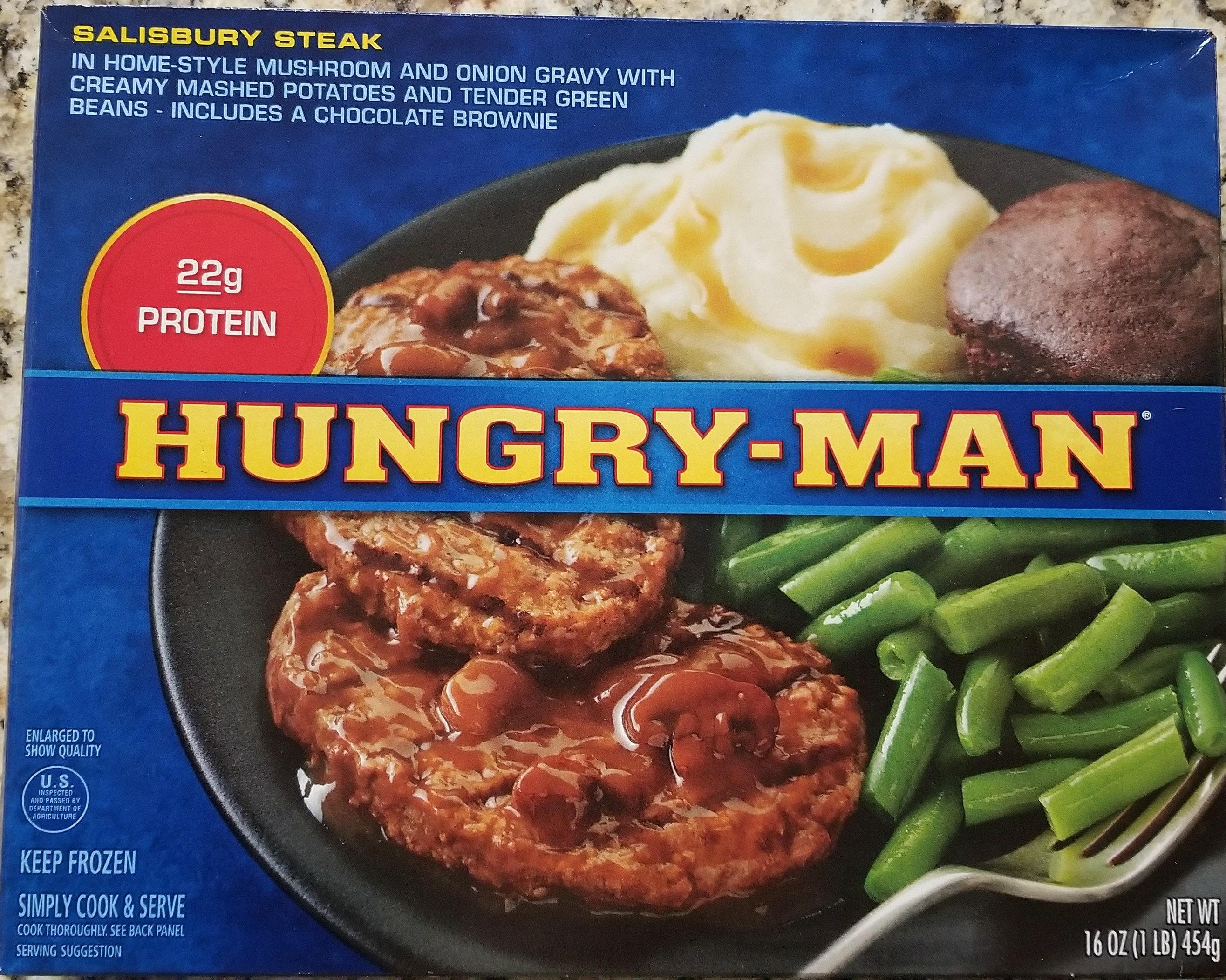 Hungry-Man Salisbury steak meal - Product - en