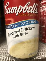 Cream of chicken with herbs - Product