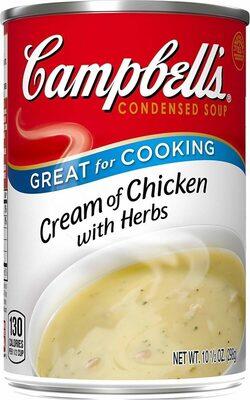 Campbell's soup cream chicken & herbs - Prodotto - en
