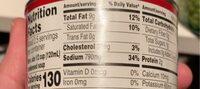 Campbell's soup cream chicken & herbs - Informazioni nutrizionali - en