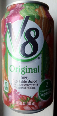 Original 100% Vegetable Juice - Produit - en