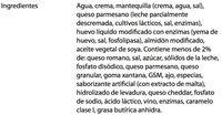 ALFREDO SAUCE - Inhaltsstoffe