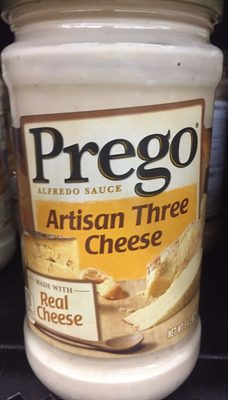 ALFREDO SAUCE ARTISAN THREE CHEESE - Product