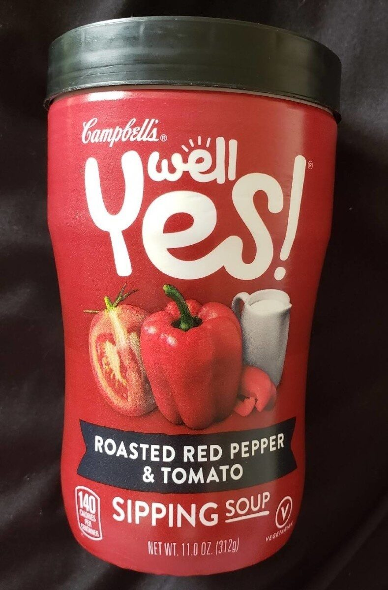Well yes soup red pepper tomato - Product - en