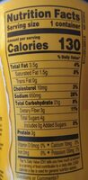 Campbells sipping soup - Nutrition facts - en