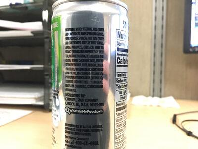 V8 Energy - Ingredients