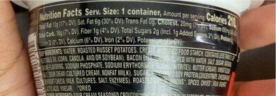 Loaded potato with bacon cheese crisps & croutons soup - Valori nutrizionali - en
