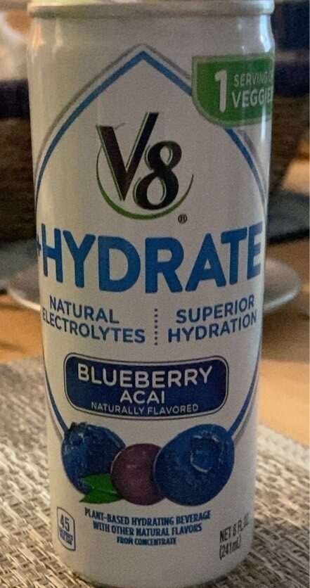 Blueberry Acai Plant-Based Hydrating Beverage - Product - en