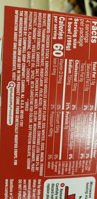 chicken soup - Ingrediënten