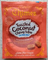Toasted Coconut Chewy Toffee with Sea Salt - Product - en