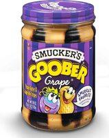 Goober grape jelly peanut butter stripes - Prodotto - en