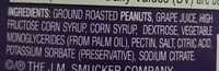 Peanutbutter & Jelly Strips - Ingredients