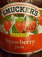 Seedless strawberry jam - Product - en