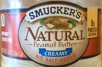 Natural peanut butter - Product
