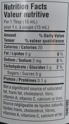 Wild blueberry spread - Nutrition facts - en