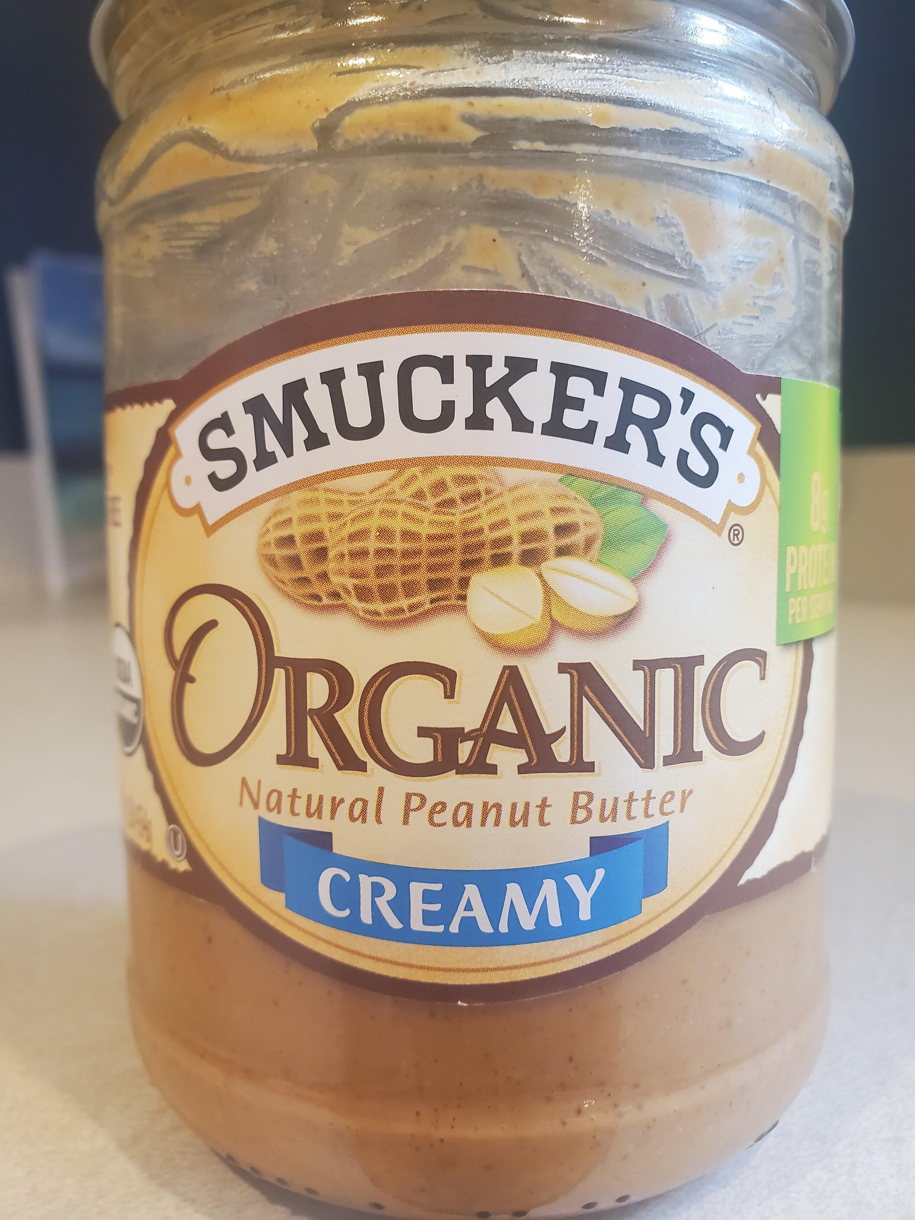 Smucker's Organic Creamy Peanut Butter - Prodotto - en