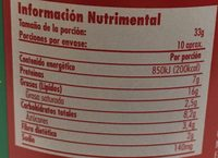 Jif Crema de Cacahuate Cremosa - Nutrition facts - es