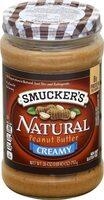 Natural creamy peanut butter - Product - en