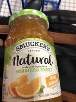Natural orange marmalade fruit spread - Product - en