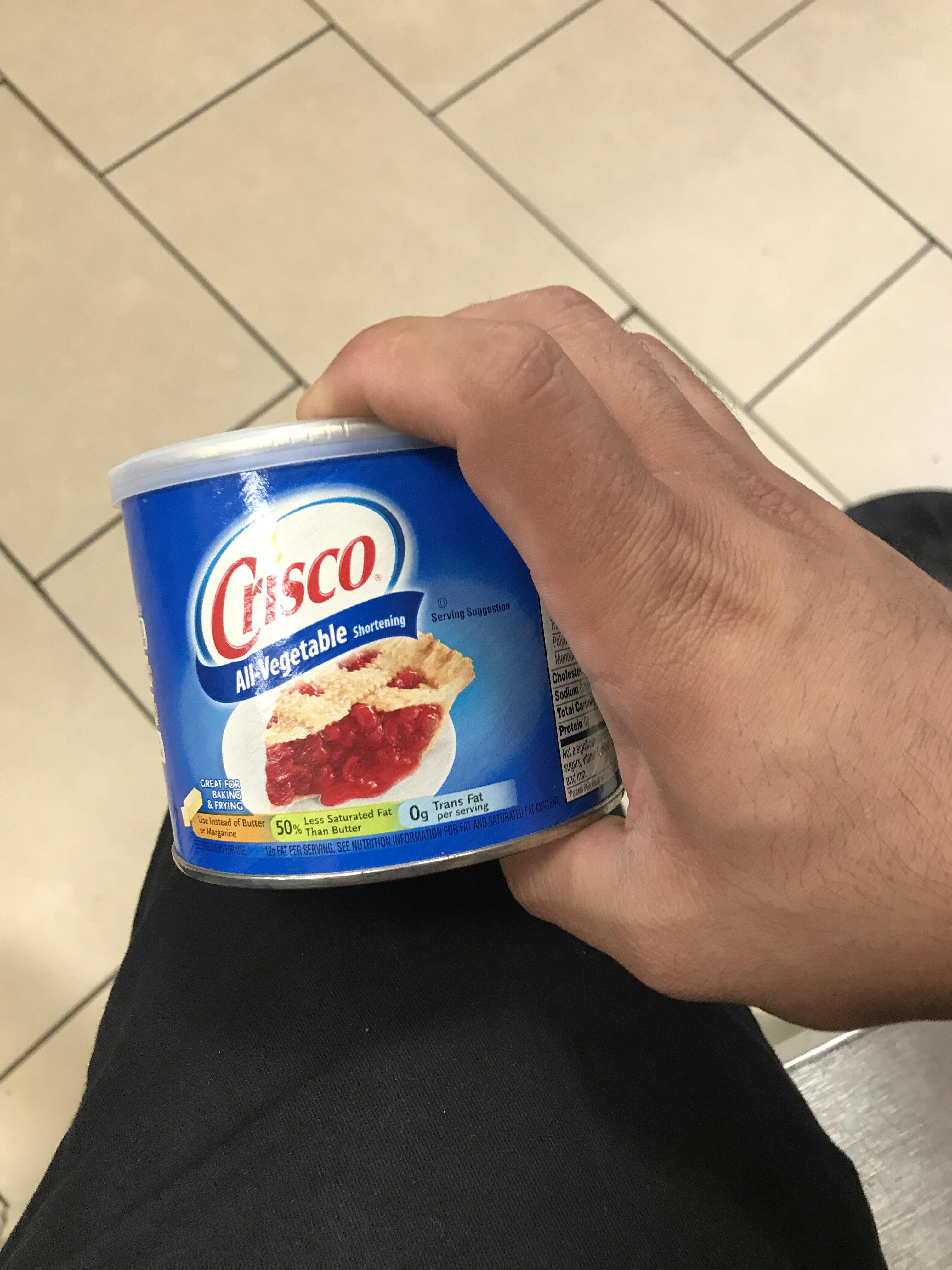 Crisco All-Vegetable Shortening - Product - en