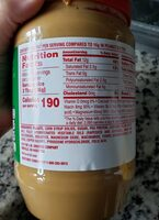Creamy Reduced Fat Peanut Butter (40 Oz) - Informació nutricional - en
