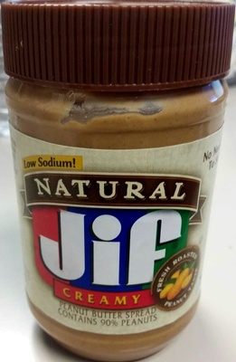 Natural Creamy Peanut Butter - Product