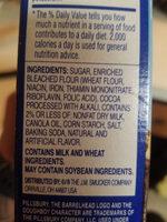 pillsbury mill chocolate brownie mix - Ingredients - en