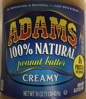 Creamy Natural Peanut Butter - Product - en