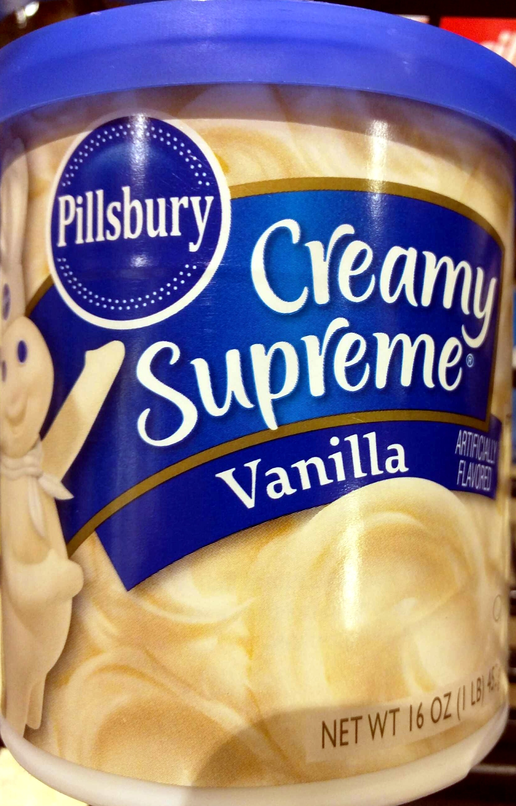 Creamy supreme vanilla - Product - en