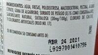 Mermelada de fresa sin azucar - Ingredientes - es