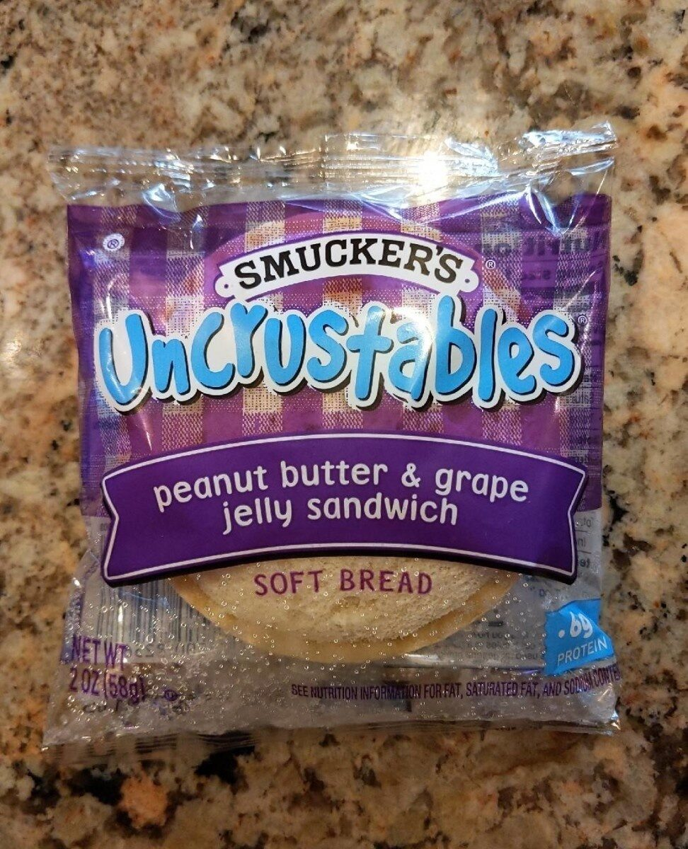 Peanut butter & grape jelly sandwich soft bread - Product - en