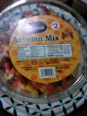 Sunrise, autumn mix candy - Product - en
