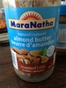 Beurre d'amandes / allons butter - Product