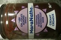 tartinade d'amandes et chocolat noir - Product