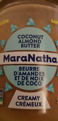 Beurre Crémeux Amande Coconut - Produit - fr