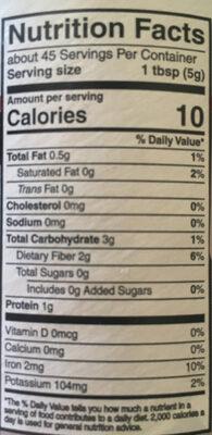 Ginger evans, premium baking cocoa - Ingredients - en