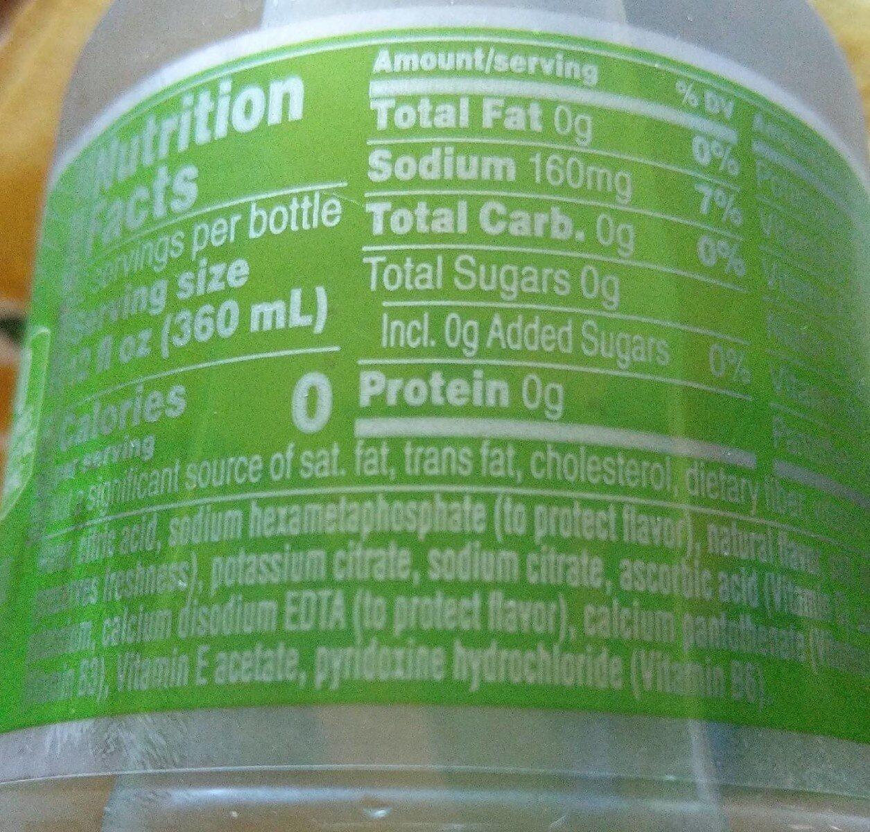 Kiwi strawberry - Nutrition facts - en