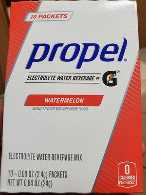 Water beverage mix with electrolytes & vitamins, watermelon - Product - en