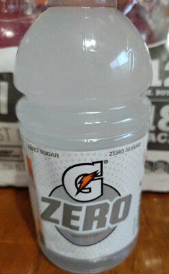 Gatorade zero glacier cherry - Product - en
