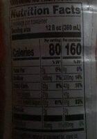 Gatorade Fruit Punch Thirst Quencher 24 Fluid - Valori nutrizionali - en