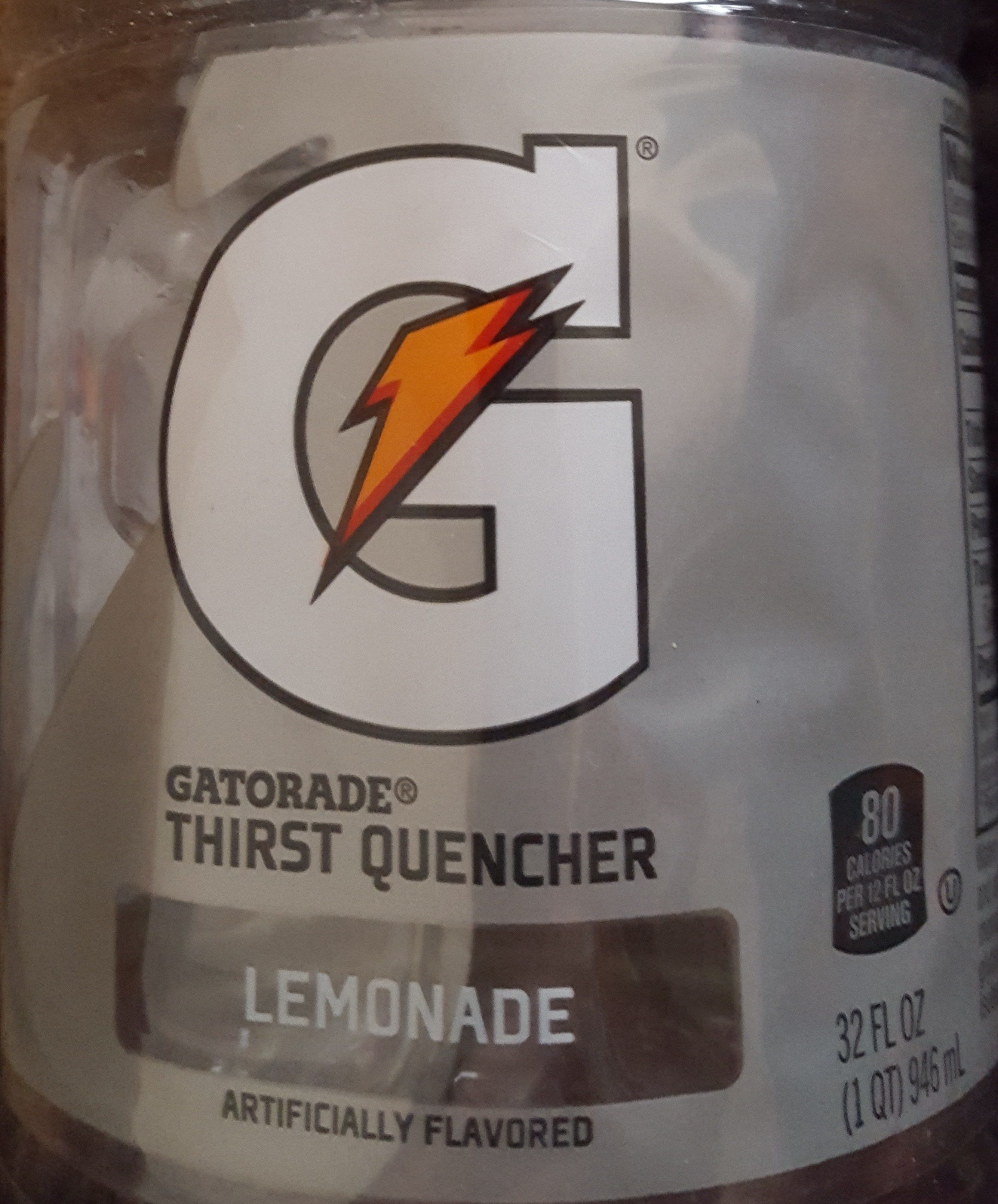 Lemonade thirst quencher, lemonade - Product - en