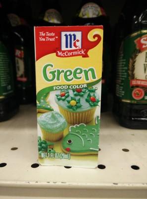 Green food color - 6